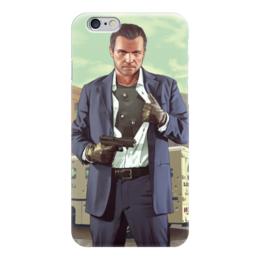 "Чехол для iPhone 6 ""GTA (ГТА)"" - grand theft auto, gta, гта"