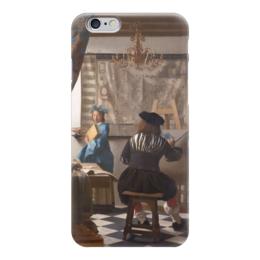 """Чехол для iPhone 6 """"Мастерская художника"""" - картина, вермеер"""