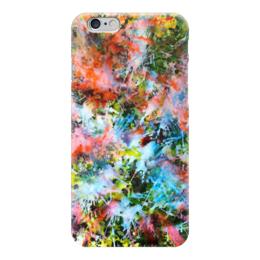 """Чехол для iPhone 6 """"Взрыв красок"""" - арт, радуга, ярко, красочно, сочно"""