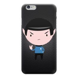 """Чехол для iPhone 6 """"Спок (Star Trek)"""" - star trek, спок, звёздный путь"""