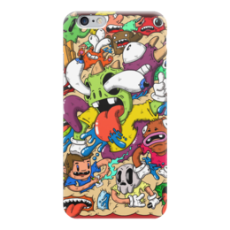 "Чехол для iPhone 6 ""Doodle : Mindblown"" - монстры, doodle, каракули, mindblown"
