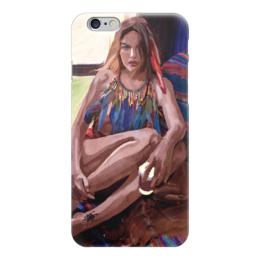 """Чехол для iPhone 6 """"Буйство красок"""" - культура, мода, люди, бохо"""
