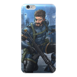 "Чехол для iPhone 6 ""Big Boss (Metal Gear Solid)"" - metal gear solid, big boss, биг босс"