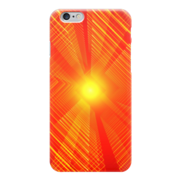 "Чехол для iPhone 6 ""Абстракция"" - разводы, абстракция, луч, абстракционизм, арт дизайн"