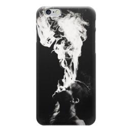 "Чехол для iPhone 6 глянцевый ""Rihanna Smoke"" - дым, сигареты, rihanna, рианна, ри"
