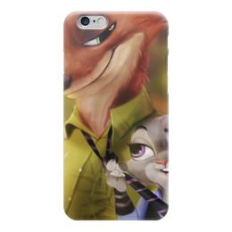 """Чехол для iPhone 6 """"Зверополис"""" - zootopia"""