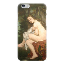 "Чехол для iPhone 6 ""Удивленная нимфа"" - картина, мане"