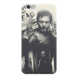 "Чехол для iPhone 6 глянцевый ""THE WALKING DEAD | Daryl "" - the walking dead, дэрил диксон, ходячие мертвецы, daryl"