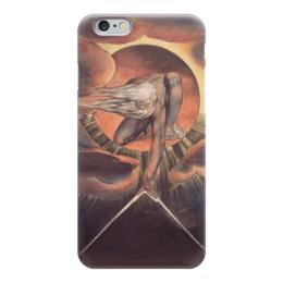 """Чехол для iPhone 6 """"Великий архитектор (Ветхий днями)"""" - картина, гравюра, блейк"""