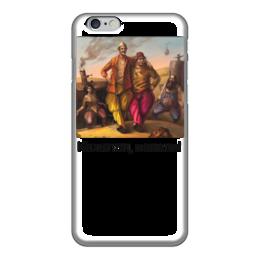 """Чехол для iPhone 6 глянцевый """"Кажется, напели"""" - кин-дза-дза, плюк, кино"""