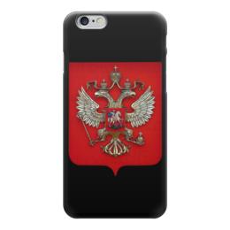"""Чехол для iPhone 6 """"Герб Российской Федерации"""" - россия, герб, герб россии, russia, двухглавый орёл"""