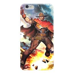 """Чехол для iPhone 6 """"Маккри"""" - blizzard, близзард, overwatch, mccree, овервотч"""
