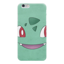 "Чехол для iPhone 6 ""Бульбазавр"" - нинтендо, nintendo, bulbasaur, pokemon go, покемон го"