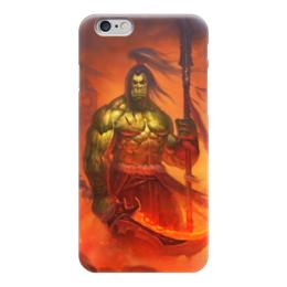 "Чехол для iPhone 6 ""WarCraft Collection"" - wow, dota, warcraft, world of warcraft, варкрафт"