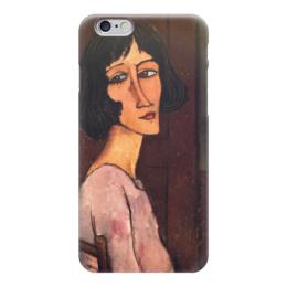 """Чехол для iPhone 6 """"Портрет Маргариты (Амедео Модильяни)"""" - картина, модильяни"""
