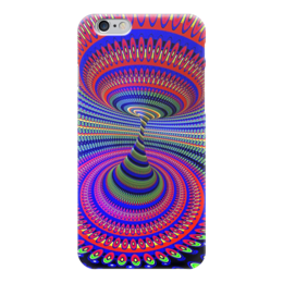 "Чехол для iPhone 6 ""Абстракция "" - 3d, яркие краски"