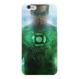 "Чехол для iPhone 6 ""Зеленый Фонарь"" - comics, hero, green lantern"
