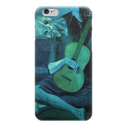 "Чехол для iPhone 6 ""Пикассо ""Гитарист"""" - арт, картина, чехол, пикассо"