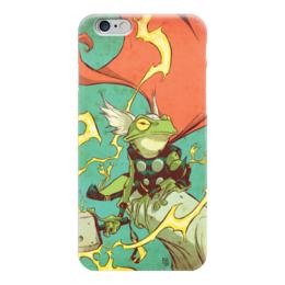"""Чехол для iPhone 6 """"Comics Art Series: Тор"""" - рисунок, супергерои, марвел, superhero, тор"""