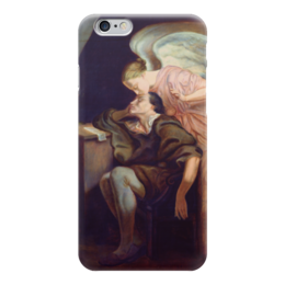 "Чехол для iPhone 6 ""Поцелуй Музы"" - картина, сезанн"