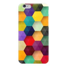 "Чехол для iPhone 6 ""Абстракция"" - абстракция, фигуры, ромб, абстракционизм, арт дизайн"