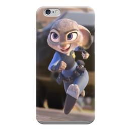 "Чехол для iPhone 6 ""Зверополис Заяц"" - мультик, дисней, заяц, зверополис"