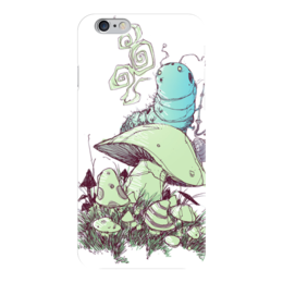 "Чехол для iPhone 6 ""Comics Art Series"" - рисунок, алиса в стране чудес, alice in wonderland"