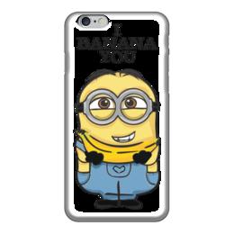 "Чехол для iPhone 6 глянцевый ""I Banana You"" - банан, миньон, гадкий я, minion, banana"