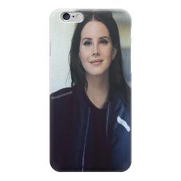 """Чехол для iPhone 6 глянцевый """"Lana Del Rey"""" - lana del rey, lana, cherry, лана, лана дель рей"""