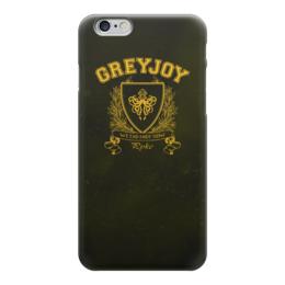 """Чехол для iPhone 6 """"Игра Престолов. Дом Грейджоев"""" - игра престолов, game of thrones, грейджои, house greyjoy, дом грейджоев"""