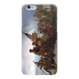 """Чехол для iPhone 6 """"Вашингтон переправляется через Делавэр"""" - картина, лойце"""