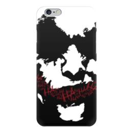 "Чехол для iPhone 6 ""Джокер"" - joker, batman, бэтмен, hahaha"