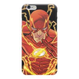 "Чехол для iPhone 6 ""Молния (The Flash)"" - flash, молния"