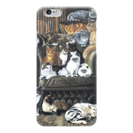 "Чехол для iPhone 6 ""Кошечки "" - много кошек"