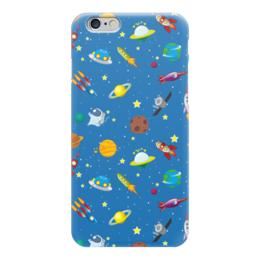 """Чехол для iPhone 6 глянцевый """"Только космос!"""" - космос, наука, space, thespaceway, юмор"""