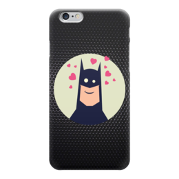 "Чехол для iPhone 6 ""Batman (Бэтмен)"" - batman, бэтмен, in love"