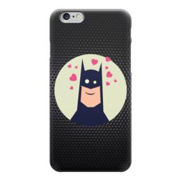 """Чехол для iPhone 6 """"Batman (Бэтмен)"""" - batman, бэтмен, in love"""