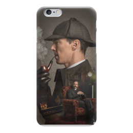 "Чехол для iPhone 6 ""Sherlock"" - sherlock, holms, benedict cumberbatch, john watson, martin freeman"