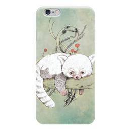 """Чехол для iPhone 6 """"red panda"""" - панда, panda, red panda"""