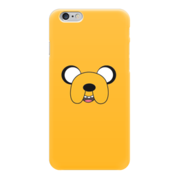 "Чехол для iPhone 6 глянцевый ""Jack."" - мульт, jake, джейк, время приключений, adventure time"