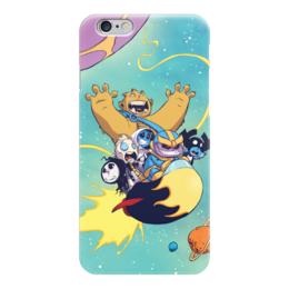 "Чехол для iPhone 6 ""Comics Art Series: Marvel"" - рисунок, супергерои, марвел, superhero, танос"