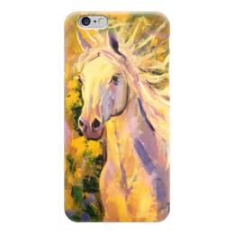"""Чехол для iPhone 6 глянцевый """"Лошадь мечты"""" - лошадь, horse"""