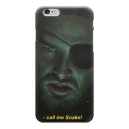 "Чехол для iPhone 6 ""Снейк Плискин (Побег из Нью-Йорка)"" - побег из нью-йорка, escape from new york, snake plissken"