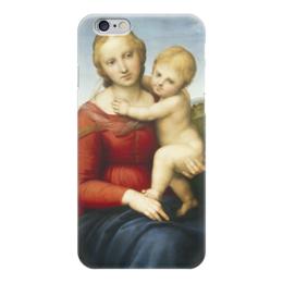 """Чехол для iPhone 6 """"Малая Мадонна Каупера"""" - картина, рафаэль"""