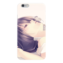 "Чехол для iPhone 6 глянцевый ""butterfly"" - аниме, кавай, тян, kawai, butterfly"