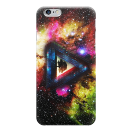 "Чехол для iPhone 6 ""Pink Floyd (Космос)"" - space, pink floyd, progressive rock, the dark side of the moon, a prism"