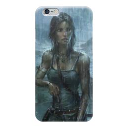 "Чехол для iPhone 6 ""Лара Крофт (Tomb Raider)"" - tomb raider, лара крофт"