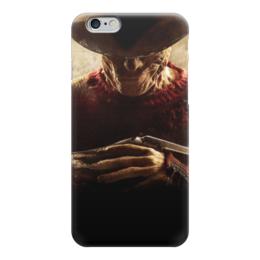 """Чехол для iPhone 6 """"Фредди Крюгер"""" - фредди крюгер, freddy krueger"""