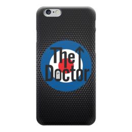 """Чехол для iPhone 6 глянцевый """"Доктор Кто (Doctor Who)"""" - доктор кто, doctor who, the who"""