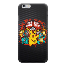 """Чехол для iPhone 6 глянцевый """"Зомби Покемон (Zombie Pokemon)"""" - zombie, зомби, pokemon, покемон, пикачу"""